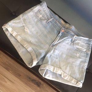 Boyfriend jean shorts in good condition